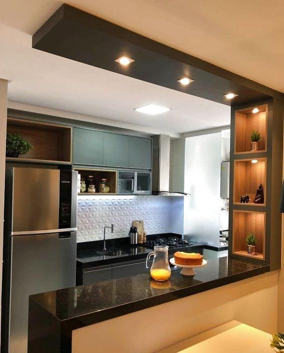 kitchen set minimalis 11
