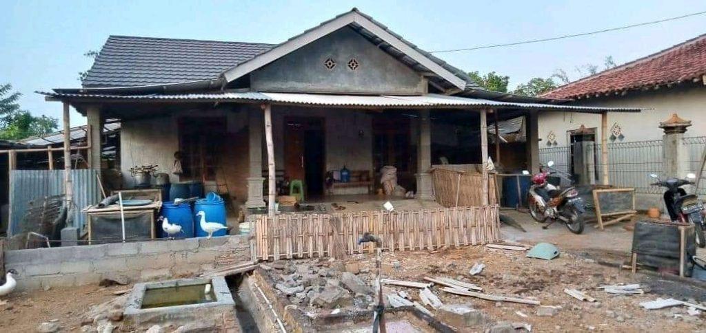 sebelum Renovasi Rumah Ibu Rini